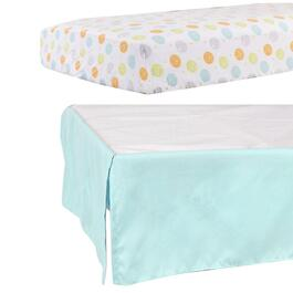 Disney Winnie the Pooh Baby Sheet and Ruffle Set - 2pc.
