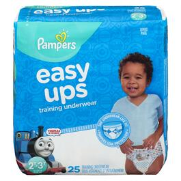 Pampers Boys Easy Ups Training Underwear 25pk. - 2T-3T
