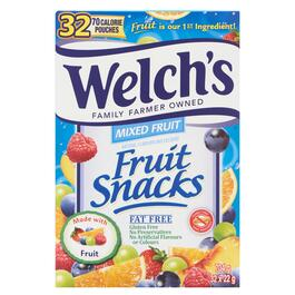 Welch's Fruit Snacks Mixed Fruit 32pk. - 704g