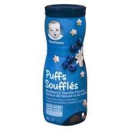 GERBER®Blueberry Vanilla Puffs - 42g