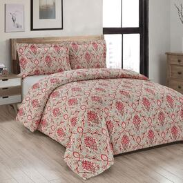 Millano Nadine Printed Duvet Cover Set - 3pc.