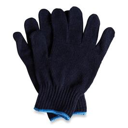 Men's Blue Knit Gloves 12pk. - Large