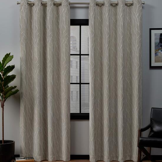 Exclusive Home Forest Hill Blackout Curtains 2pc. - 84in.