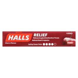 Halls Relief Cherry Lozenges - 9pk.