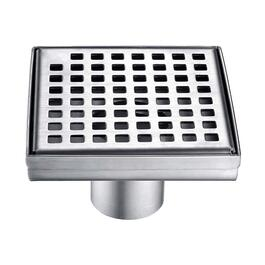 Luxury Drains Grill Grid Square Shower Drain