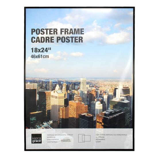 nexxt Uptown Collection Black Aluminium Poster Frame
