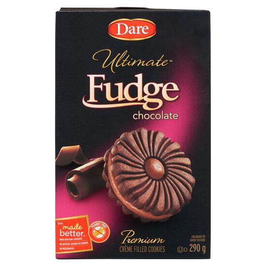Dare Ultimate Fudge Chocolate Crème Filled Cookies - 290g