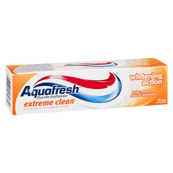 Aquafresh Extreme Clean Whitening Toothpaste - 90ml