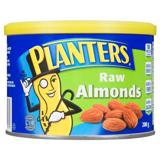 Planters Raw Almonds - 200g