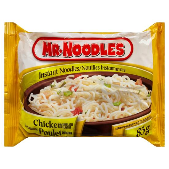 Mr. Noodles Instant Noodles Chicken Simulated Flavour - 85g