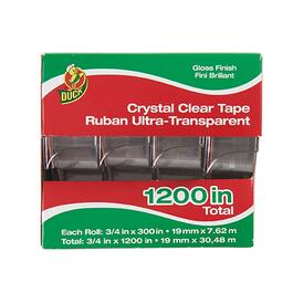 Duck Crystal Clear Tape - 4pk.