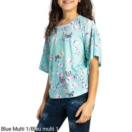 BELLA & BIRDIE Girls Circle Fashion Top - S-XL (7-16)