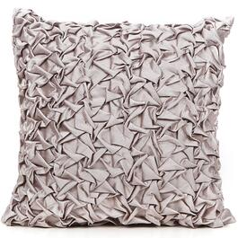 Gouchee Design Silver Squeeze Me Cushion - 18in.