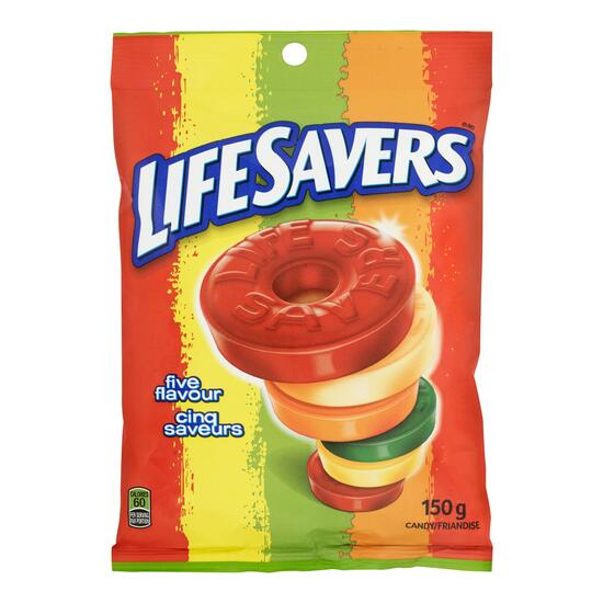 Life Savers 5 Flavour Candy - 150g