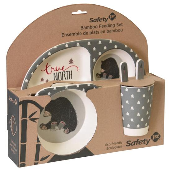 Safety 1st Bamboo Feeding Set - Oh Canada