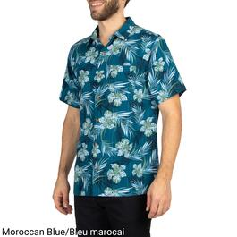 Mountain Ridge Men's Big Guy Short Sleeve Printed Shirt - 3XL-4XL