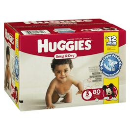 Huggies Diapers - 80pk.