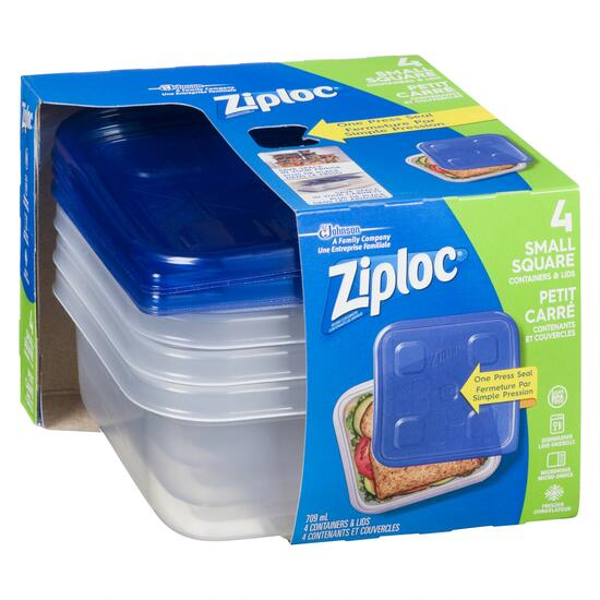Ziploc Container 4pc. - 709ml