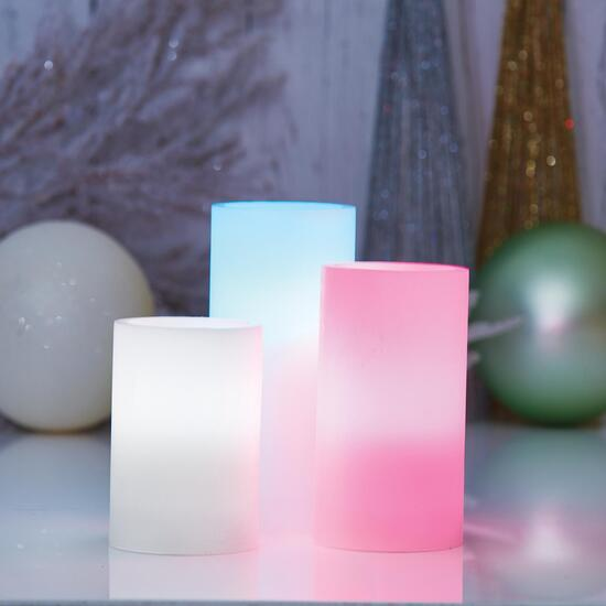 HomeStyles Flameless LED Candles - 3pc.