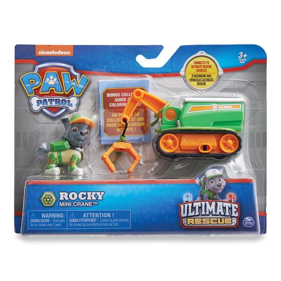 Paw Patrol Mini Vehicle with Figurine