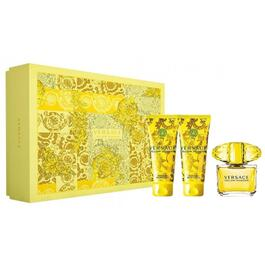 Yellow Diamond by Versace Gift Set for Women - 3pc.