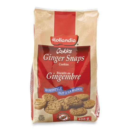 Hollandia Ginger Snaps Cookies - 400g