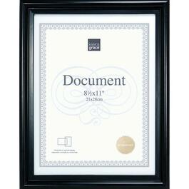 Kiera Grace Embassy Document Frame, Set of 24 - Black