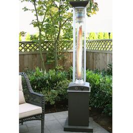 Paramount 46,000 BTU Flame Propane Patio Heater - Powder Coated Steel