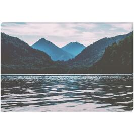 Serene Lake Canvas Art - 36in. x 24in.