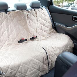 Jack and Dixie Quilted Pet Car Seat Cover