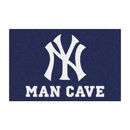 MLB New York Yankees Man Cave Starter Rug - 30in.