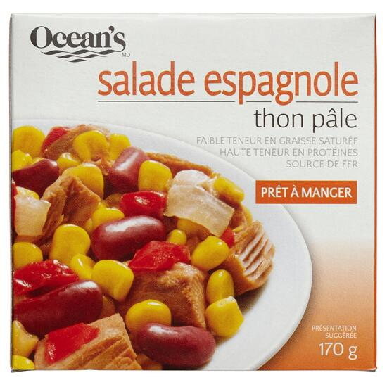 Ocean's Spanish Salad Light Tuna - 170g