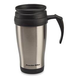 Proctor Silex Silver Travel Mug - 414ml