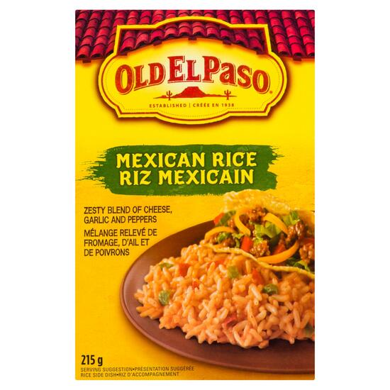 Old El Paso Mexican Rice Side Dish - 215g