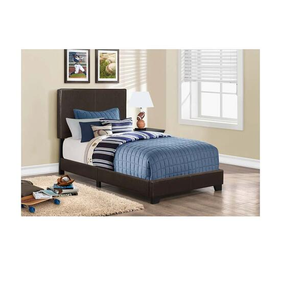 Monarch Specialties Inc. Dark Brown Bed Frame - Twin