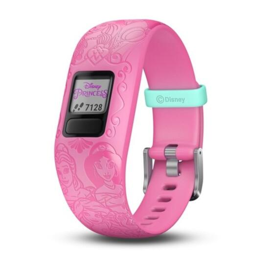 Garmin vívofit® jr. 2 Pink Princess Character Icons Kids Fitness Tracker