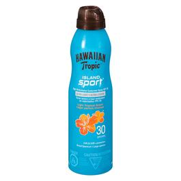 Hawaiian Tropic Island Sport Ultra-light Sport Sunscreen Spray SPF 30 - 170ml
