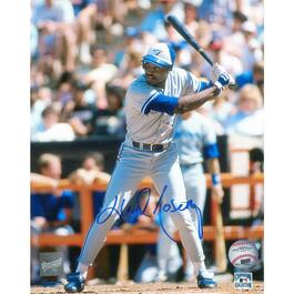 Lloyd Moseby Unframed Signed Toronto Blue Jays Photo - 8in.x10in.