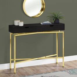 Monarch Specialties Cappuccino Accent Table - 42in.