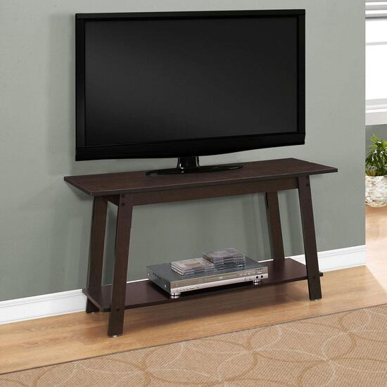 Monarch Specialties Cappuccino TV Console