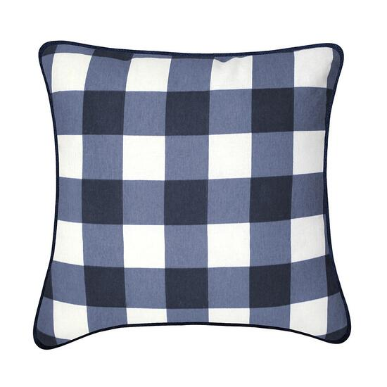 Millano Oxford Navy Indoor/Outdoor Throw Pillow - 2pk.