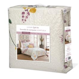 Safdie & Co. Serenade King Premium Quilt Set - 3pc.