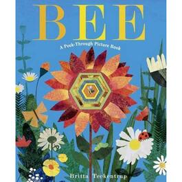 Bee: A Peek-Through Picture Book - English Only