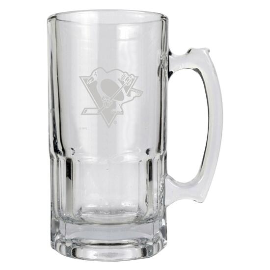 NHL Pittsburgh Penguins Large Stein Glass - 11 fl. oz.