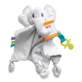 MONKEY BARS Infant Grey Cuddly with Elephant Holder
