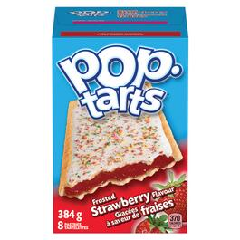 Kellogg's Frosted Strawberry Pop Tarts - 384g