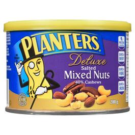 Planters Deluxe Salted Mixed Nuts - 200g