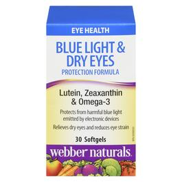 Webber Naturals Blue Light and Dry Eyes Protection Formula - 40 Softgels