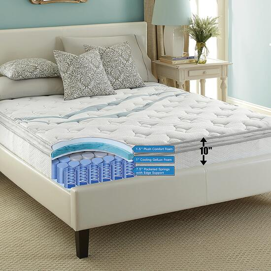 dreamz Quilted Pillow Top Mattress - Twin