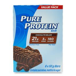 Pure Protein Double Chocolate Bars - 6pk.